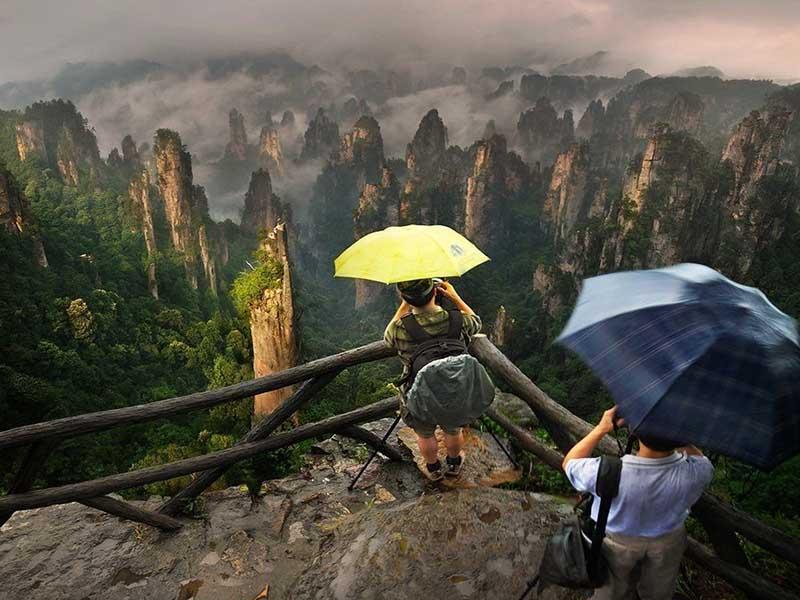 Туризм в парке Чжанцзяцзе