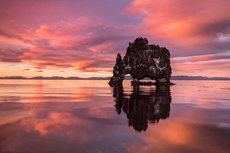 Хвитсеркур – базальтовая скала, которая напоминает монстра