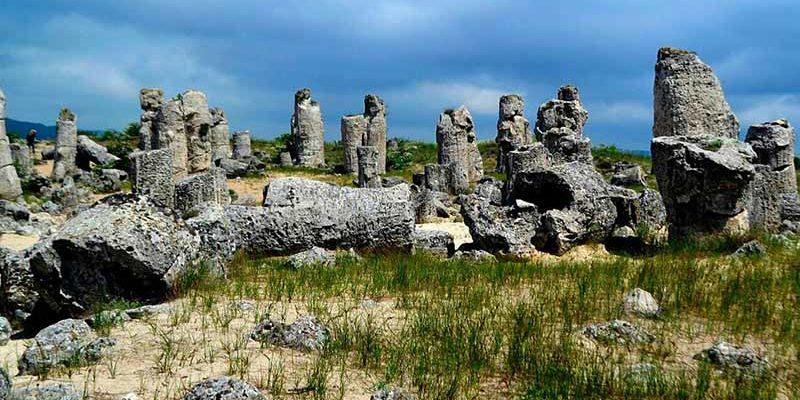 «Каменный лес» неизвестного происхождения в Болгарии