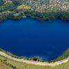 Удивительное озеро, заполненное чернилами